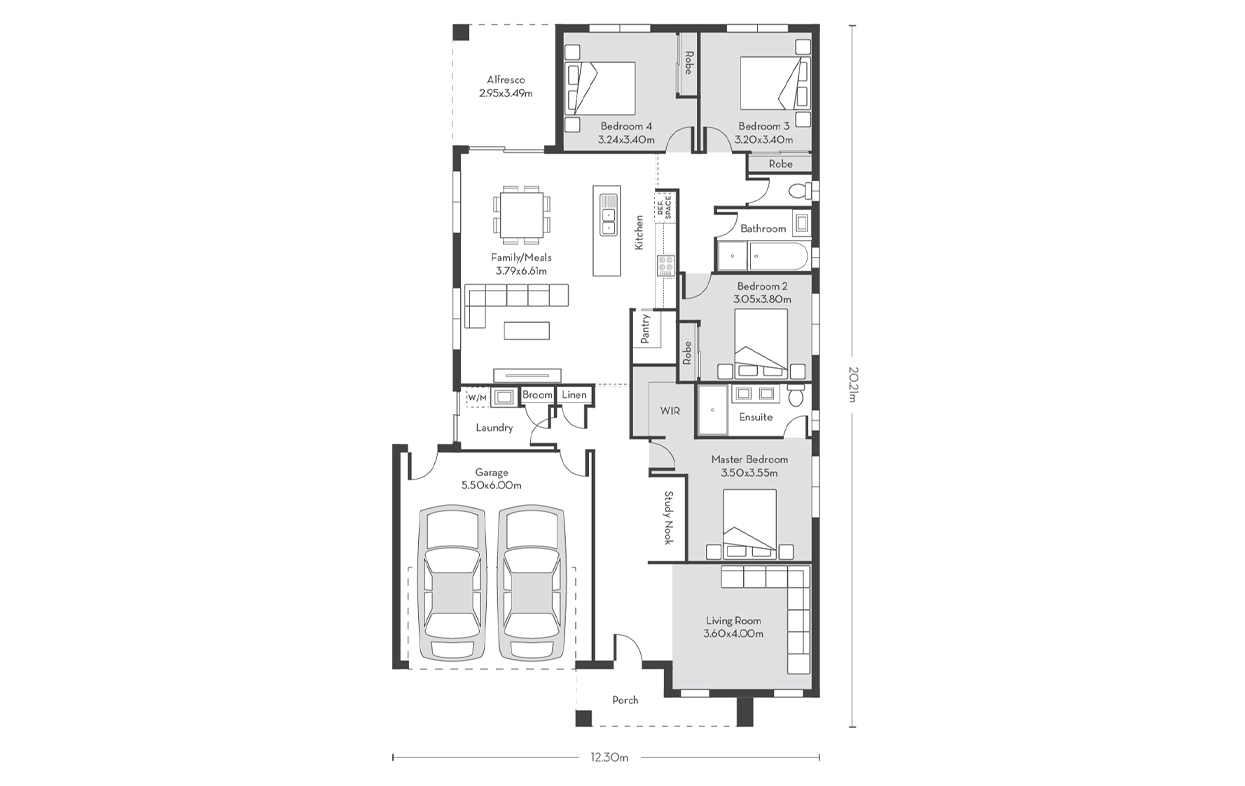 Chicago 23 Floor Plans