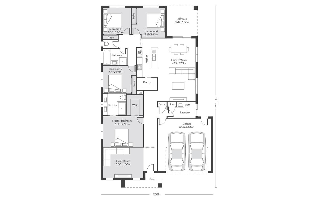 Chicago 25 Floor Plans