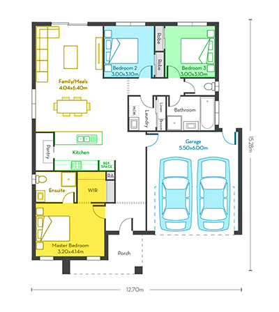 Chicago 18 floor plans