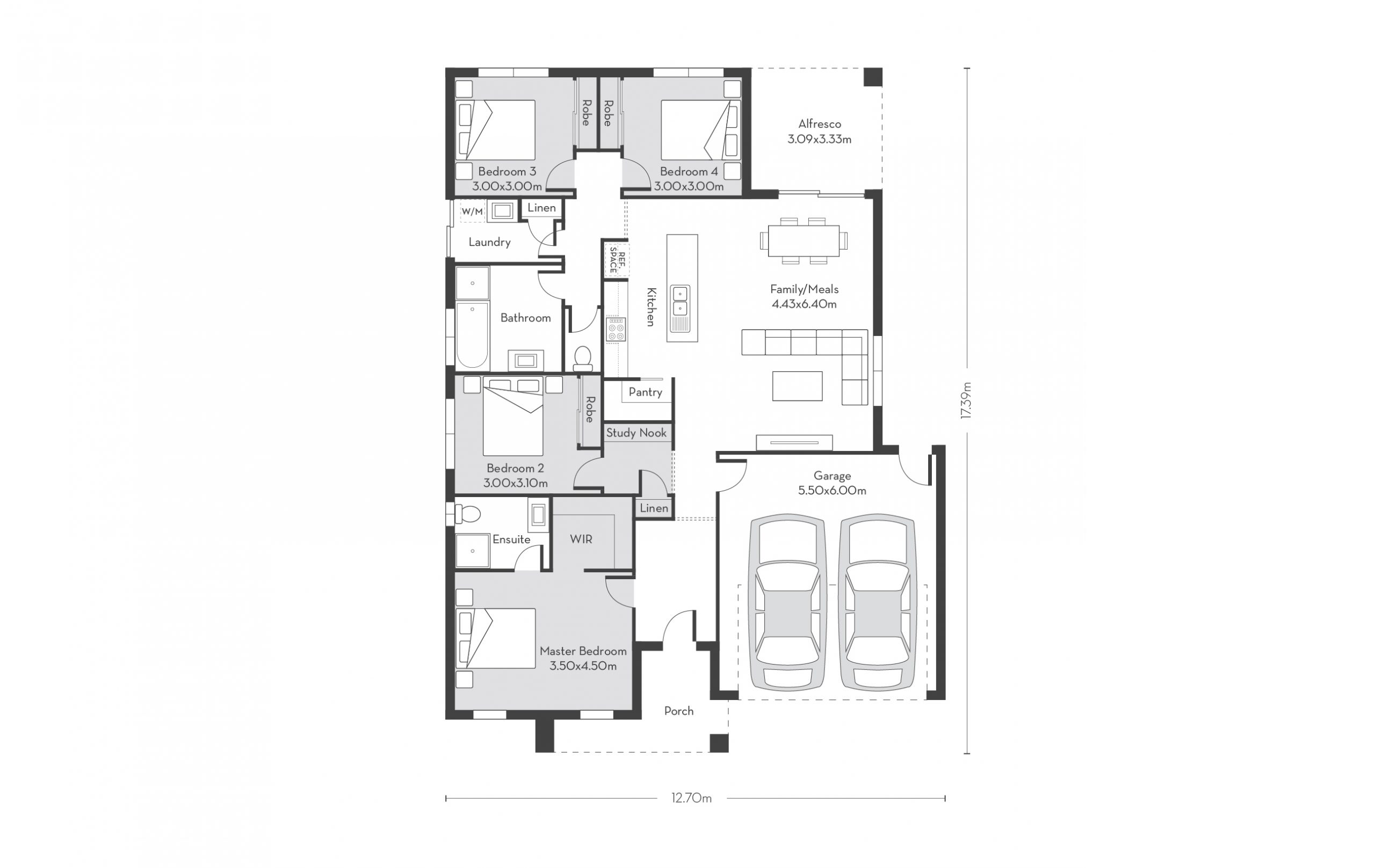 Chicago 21 Floor Plans