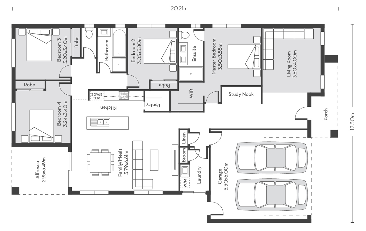 Chicago 23 Floor Plans