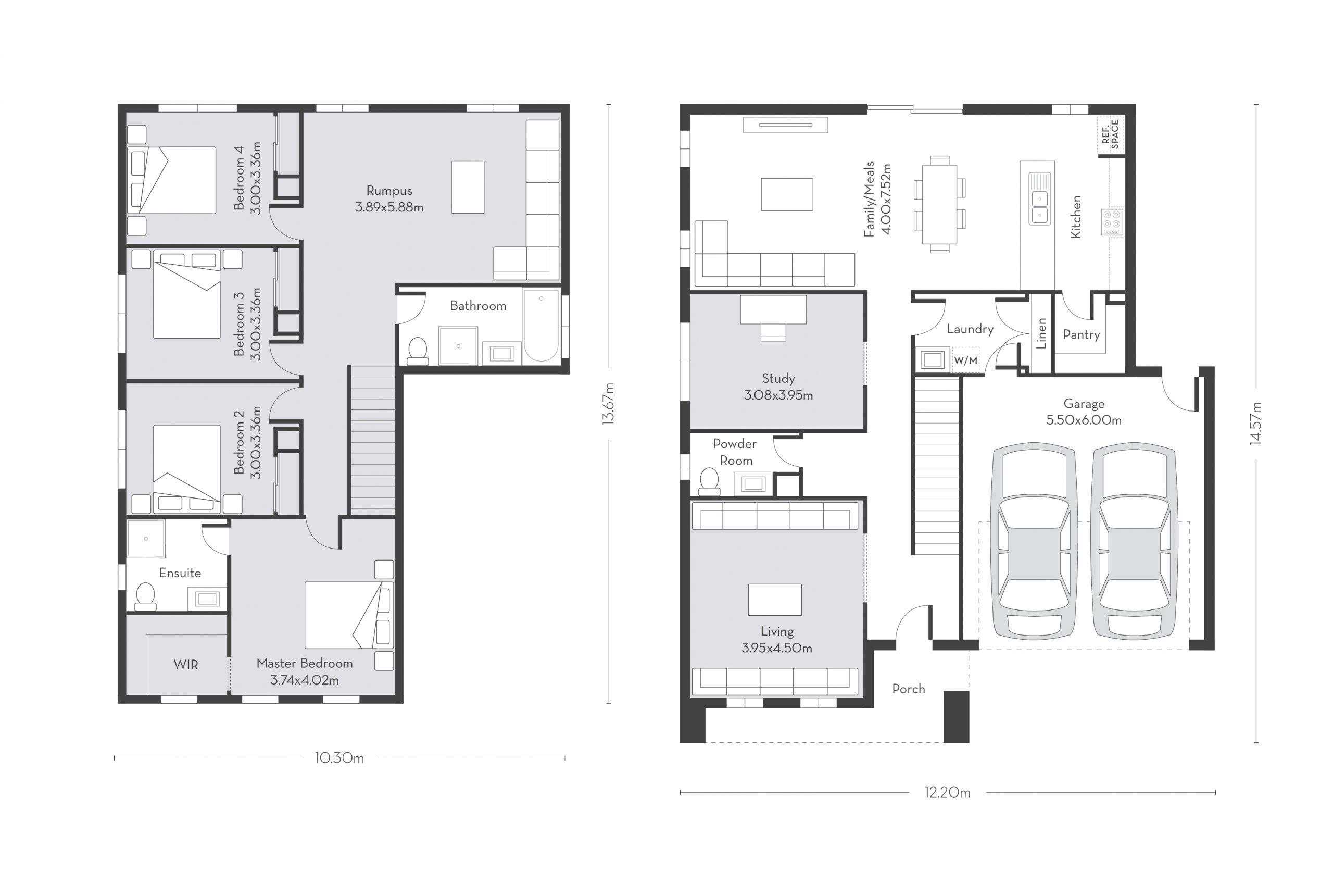 Chicago 29 (D) Floor Plans