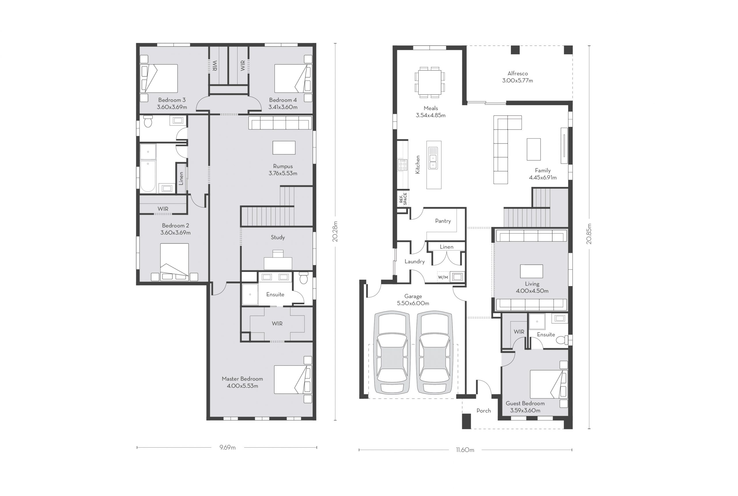 Chicago 41 (D) Floor Plans
