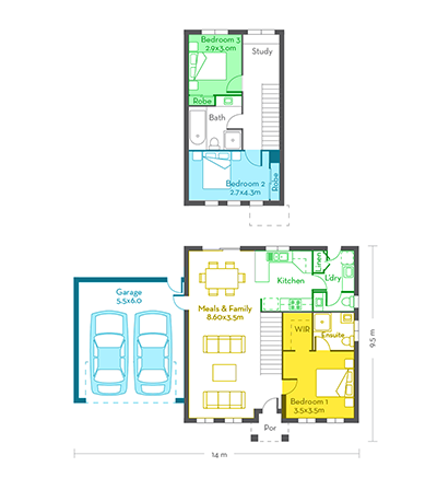 Edinburgh 18 floor plans