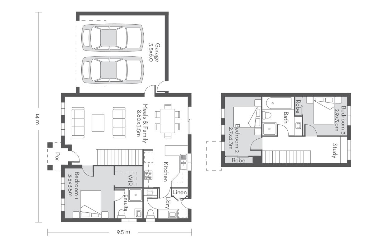 Edinburgh 18 Floor Plans
