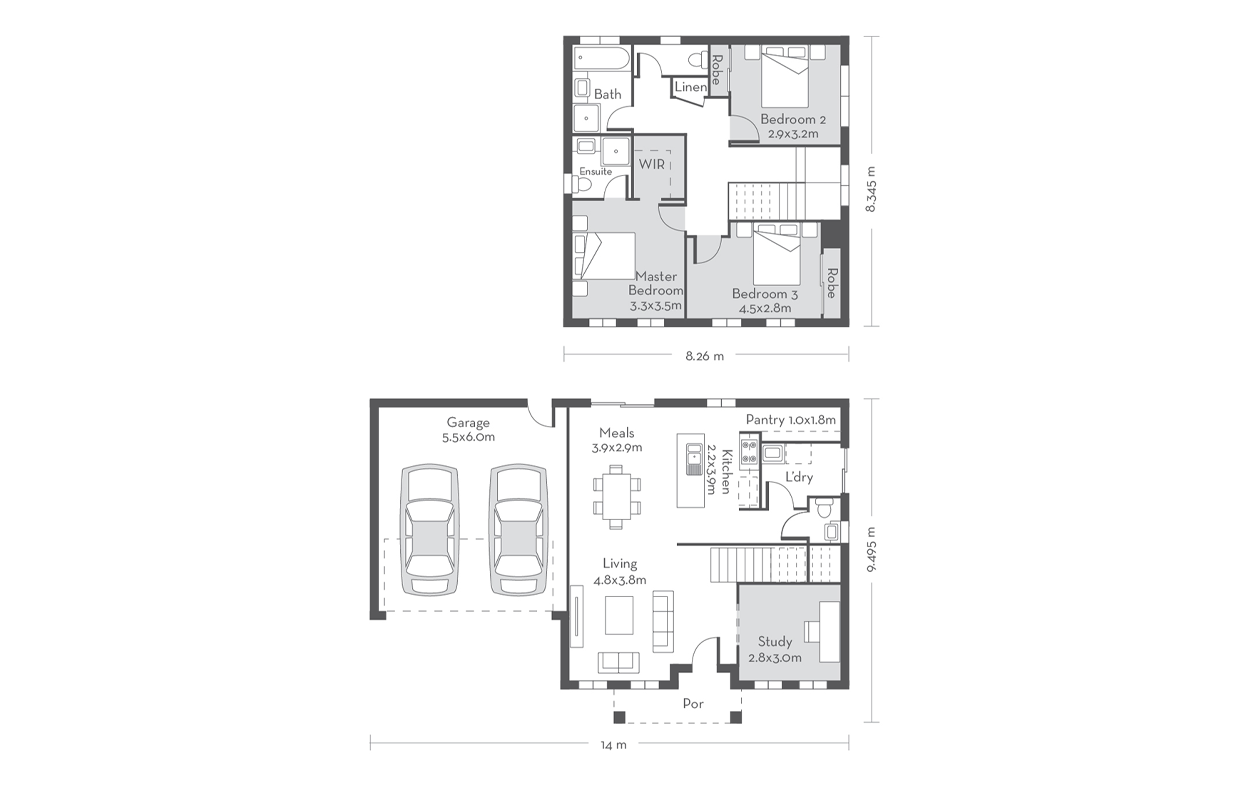 Edinburgh 19 Floor Plans