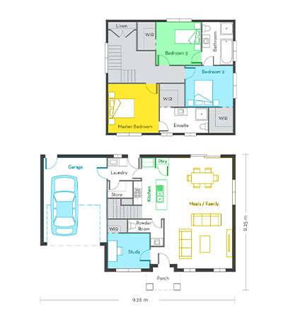 Edinburgh 20 floor plans