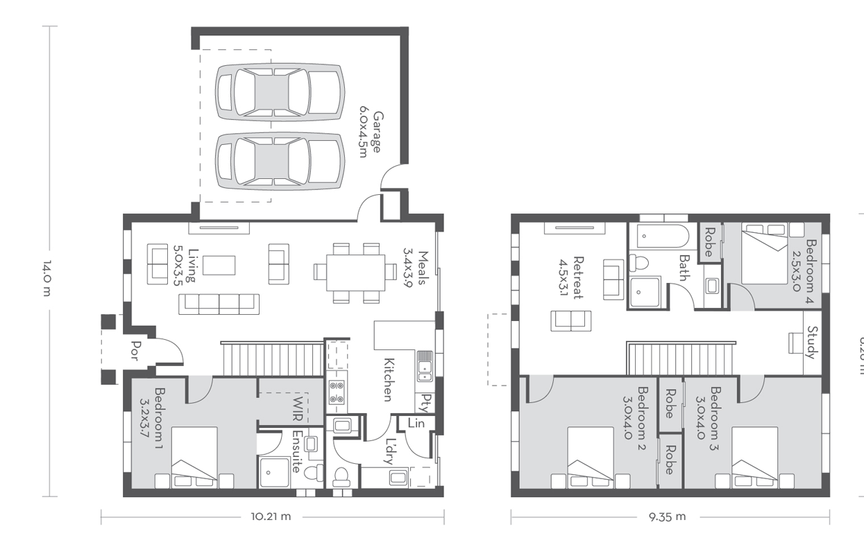 Edinburgh 21 Floor Plans