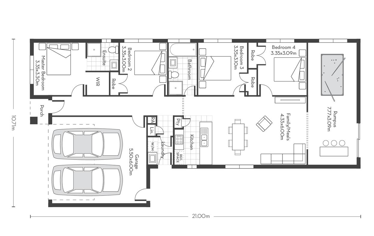 Invest 20 (Rumpus) Floor Plans