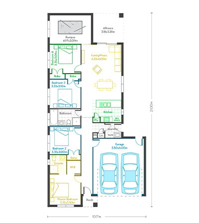 Invest 20 (Alfresco) floor plans