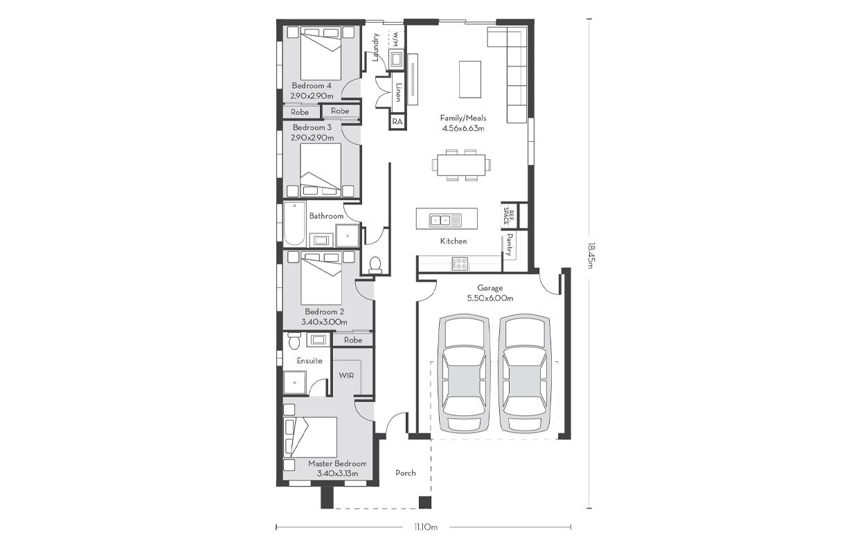 London 19 Floor Plans