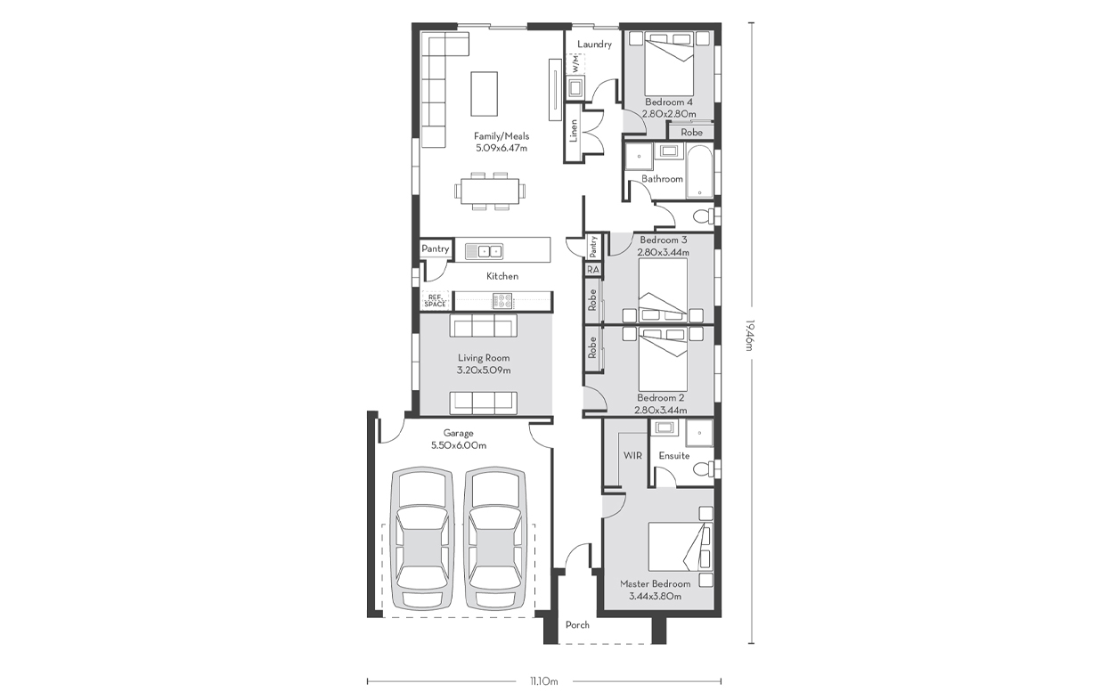 Chicago 21 Floor Plans