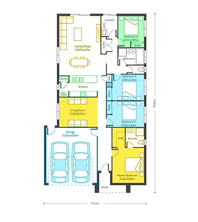 London 21 floor plans