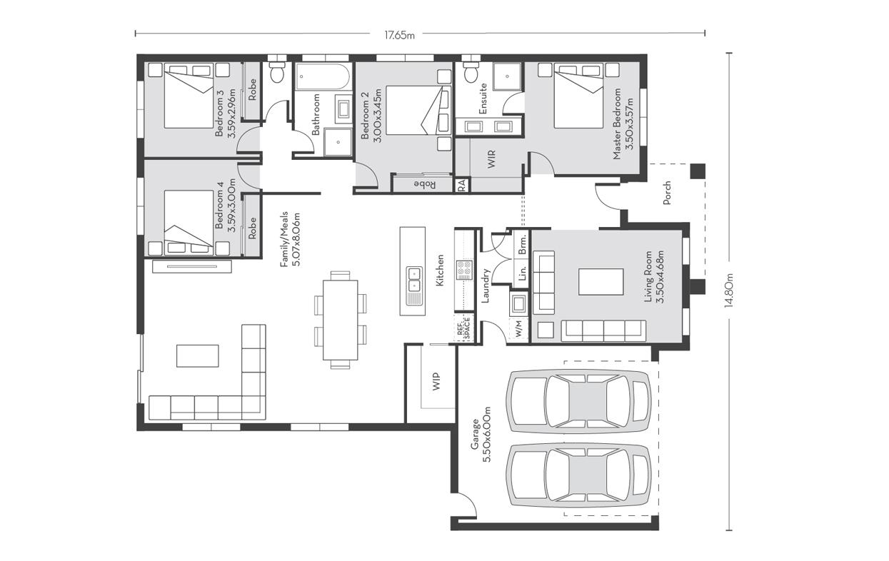Madrid 23 Floor Plans