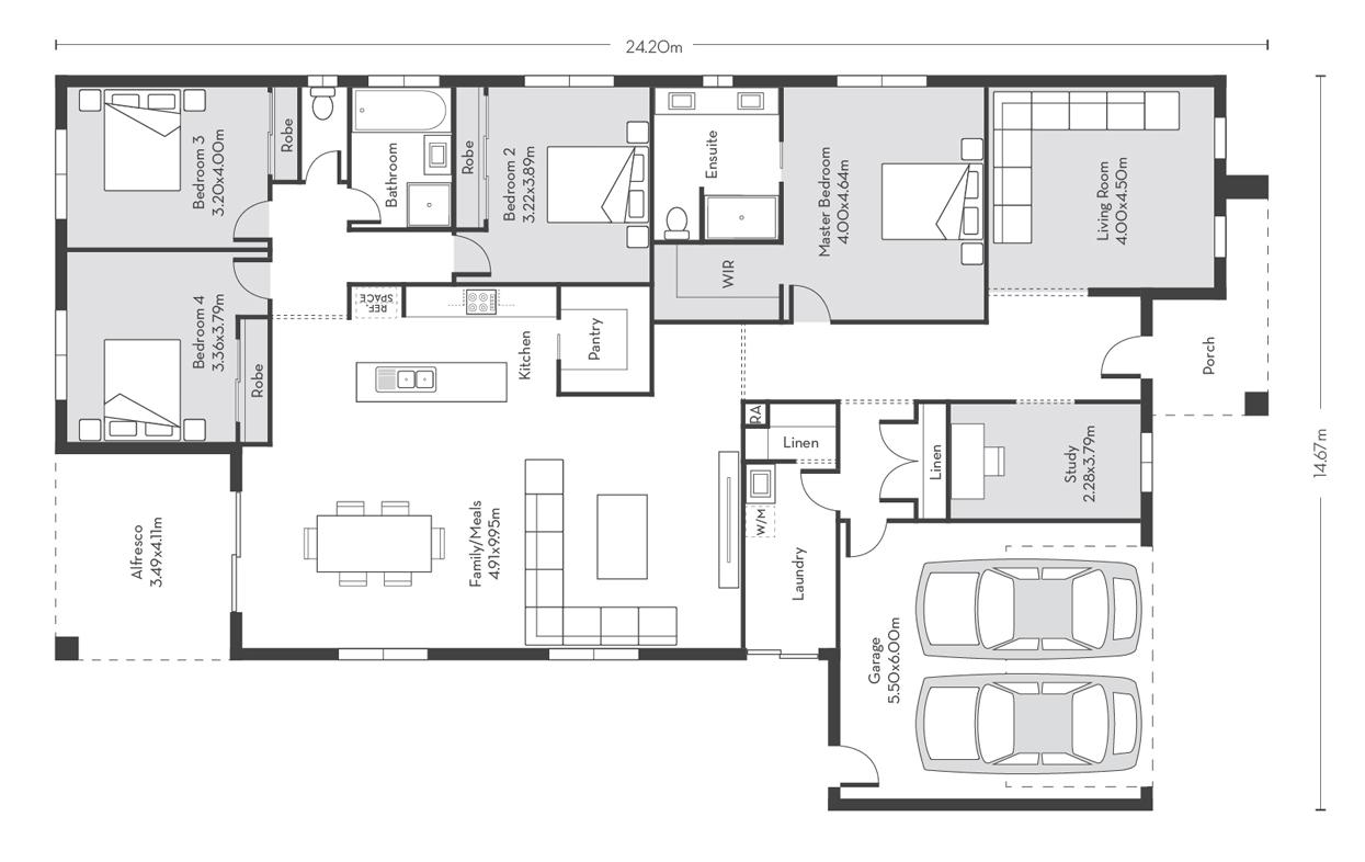 Madrid 31 Floor Plans