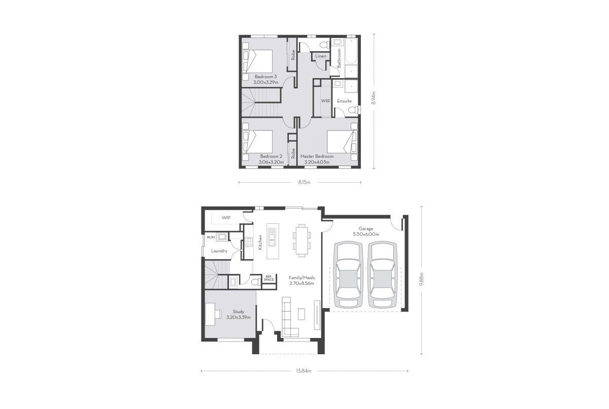Montreal 20 (D) floor plans