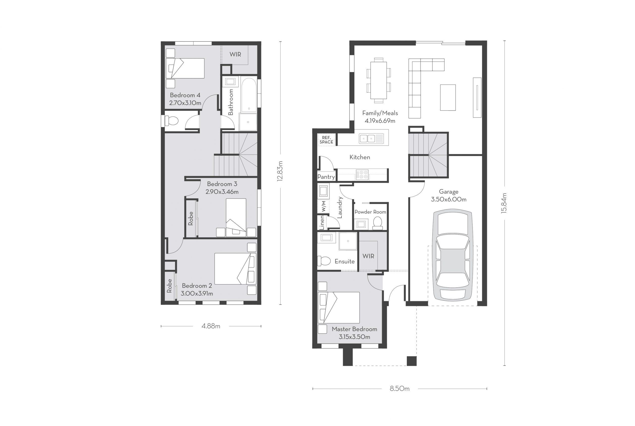 Rio 19 (D) Floor Plans