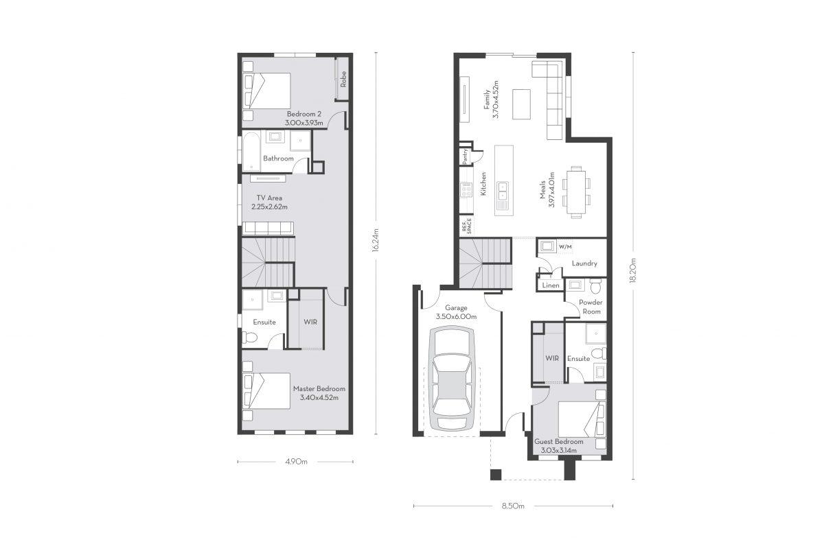 Rio 22 (D) floor plans