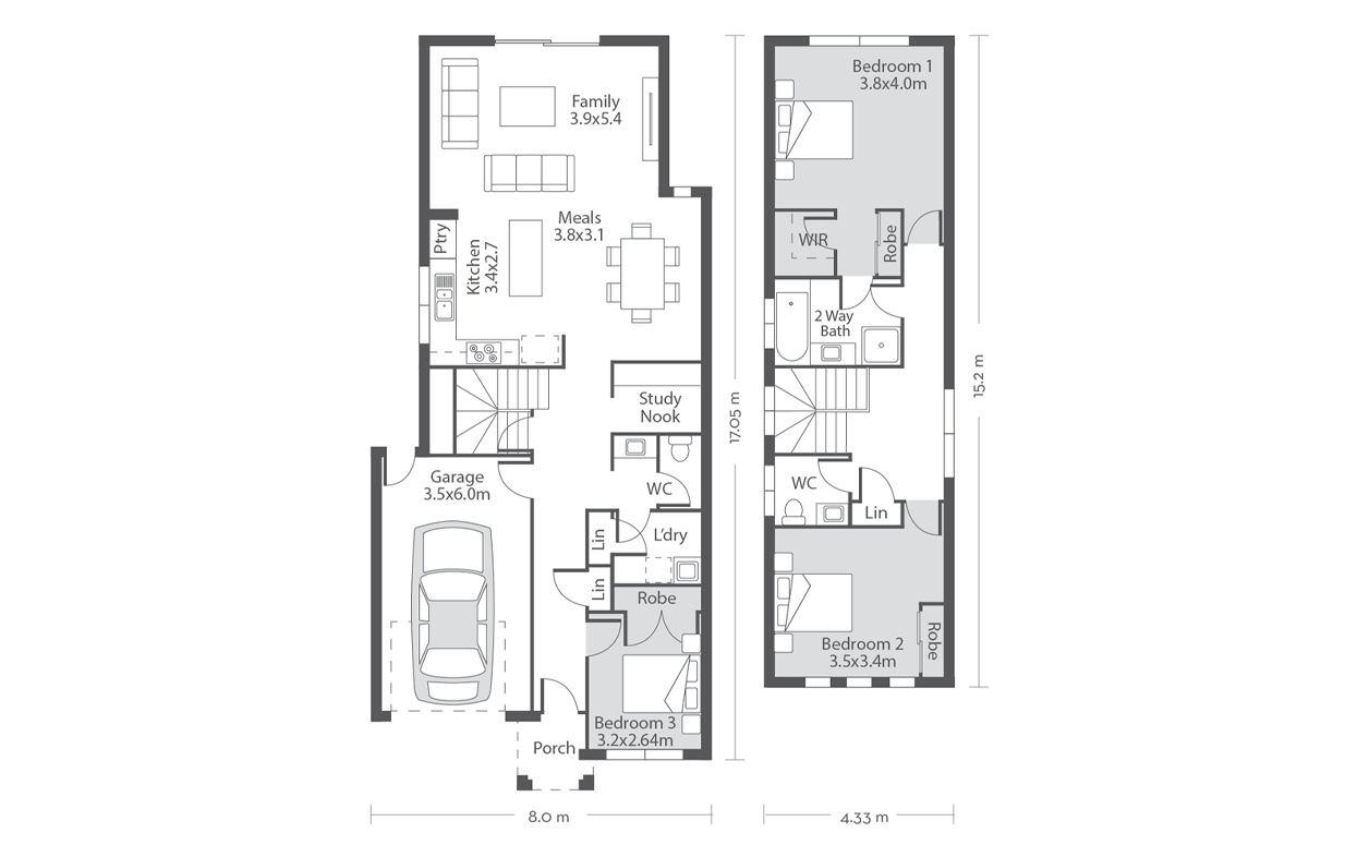 Wellington 20 Floor Plans