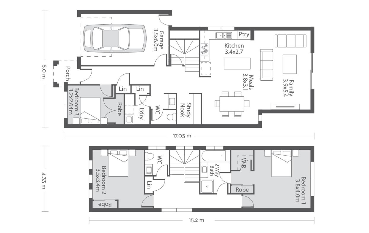 Wellington 20 Floor Plans