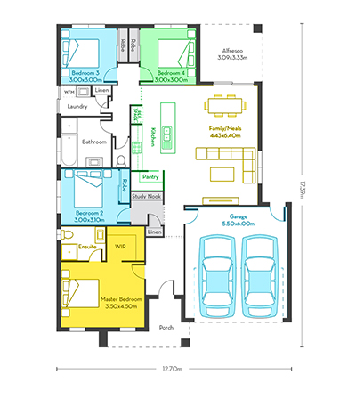 Chicago 21 floor plans vg