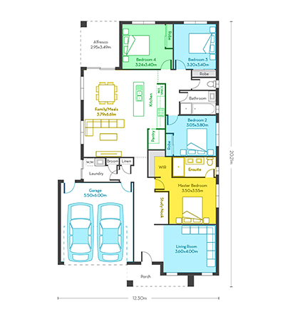 Chicago 23 floor plans vg
