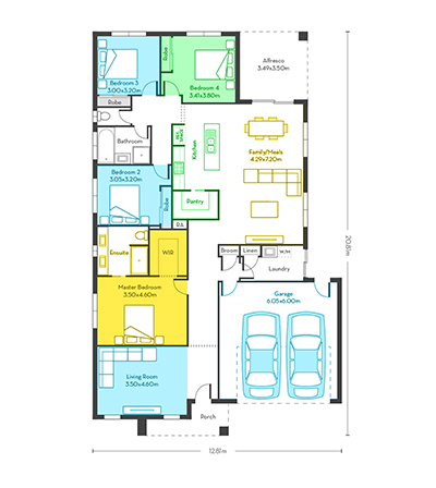 Chicago 25 floor plans