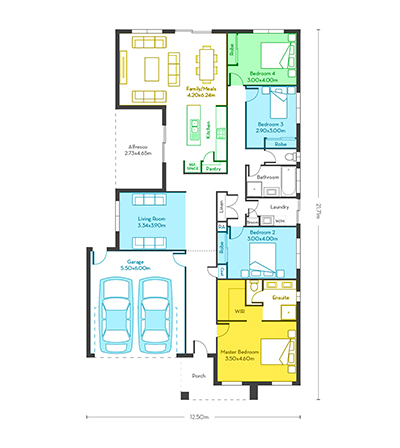 Chicago 26 floor plans