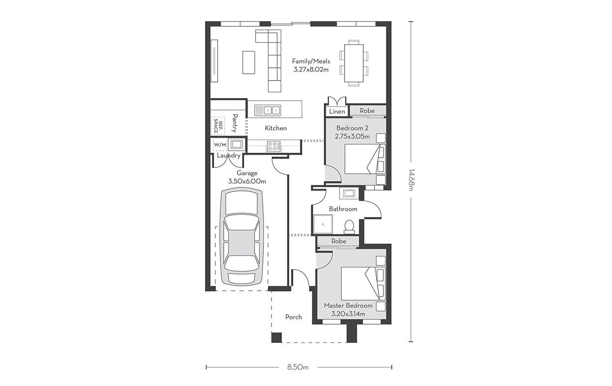 Rio 12-2 Floor Plans