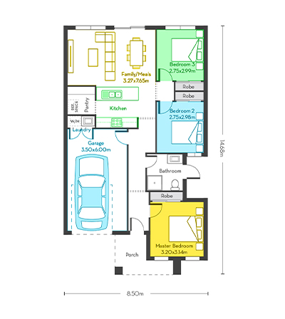 Rio 12-3 floor plans
