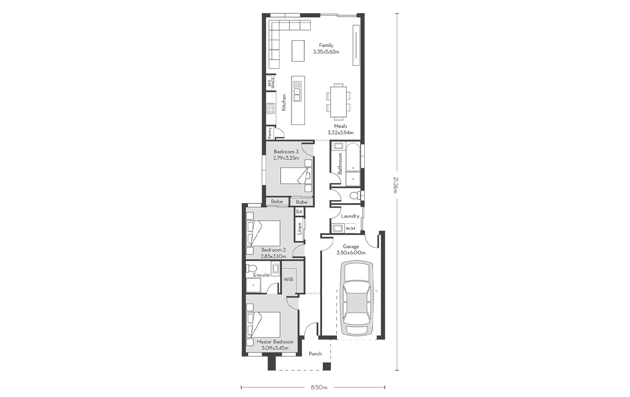 Rio 16 Floor Plans