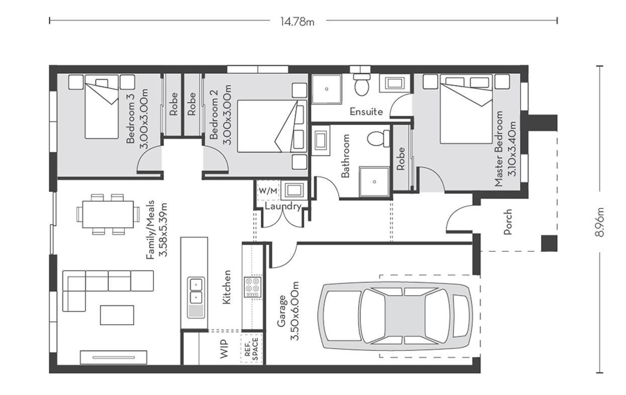 Rome 14 Floor Plans