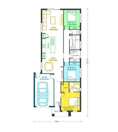 Rome 17 floor plans