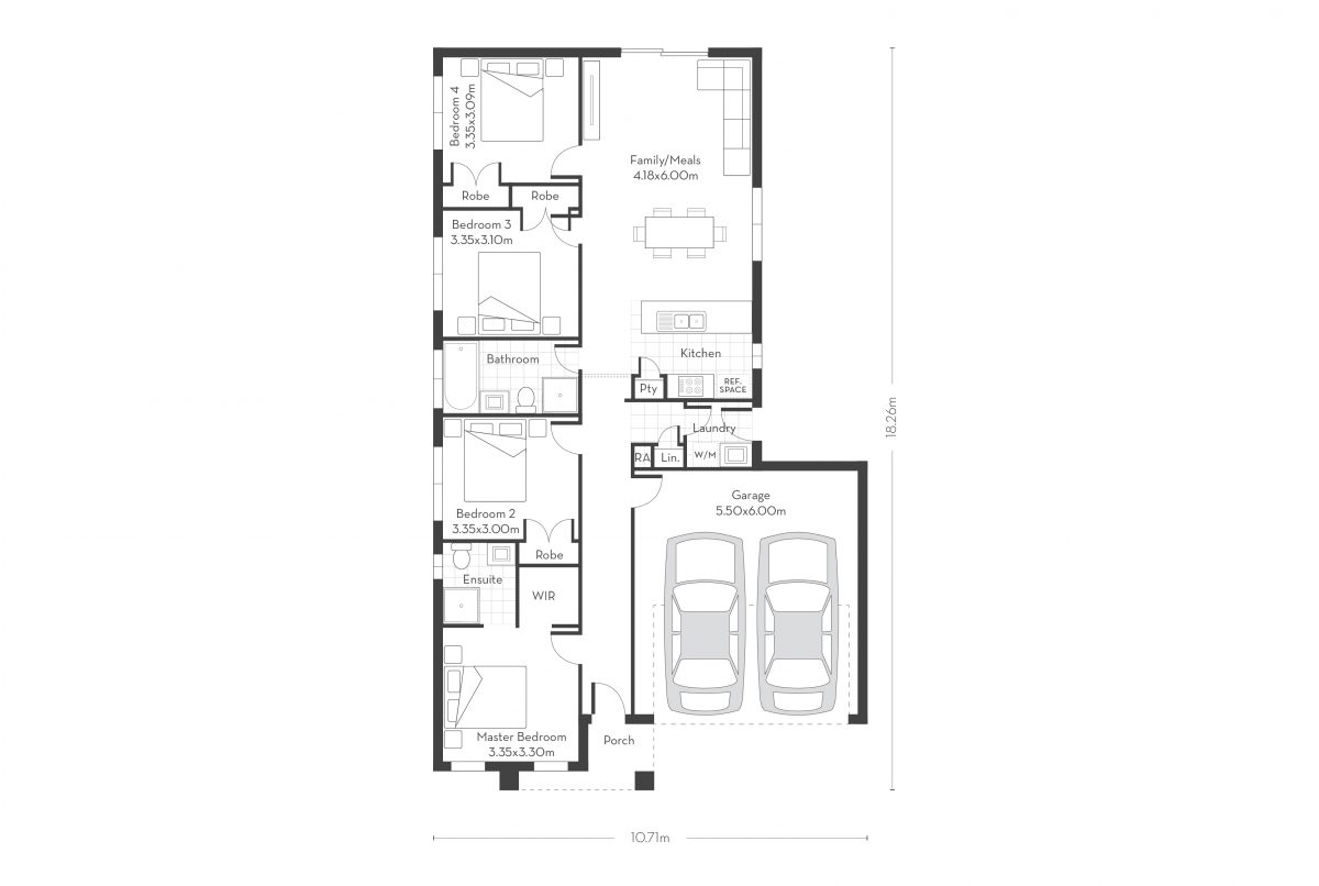 Esprit 17 floor plans