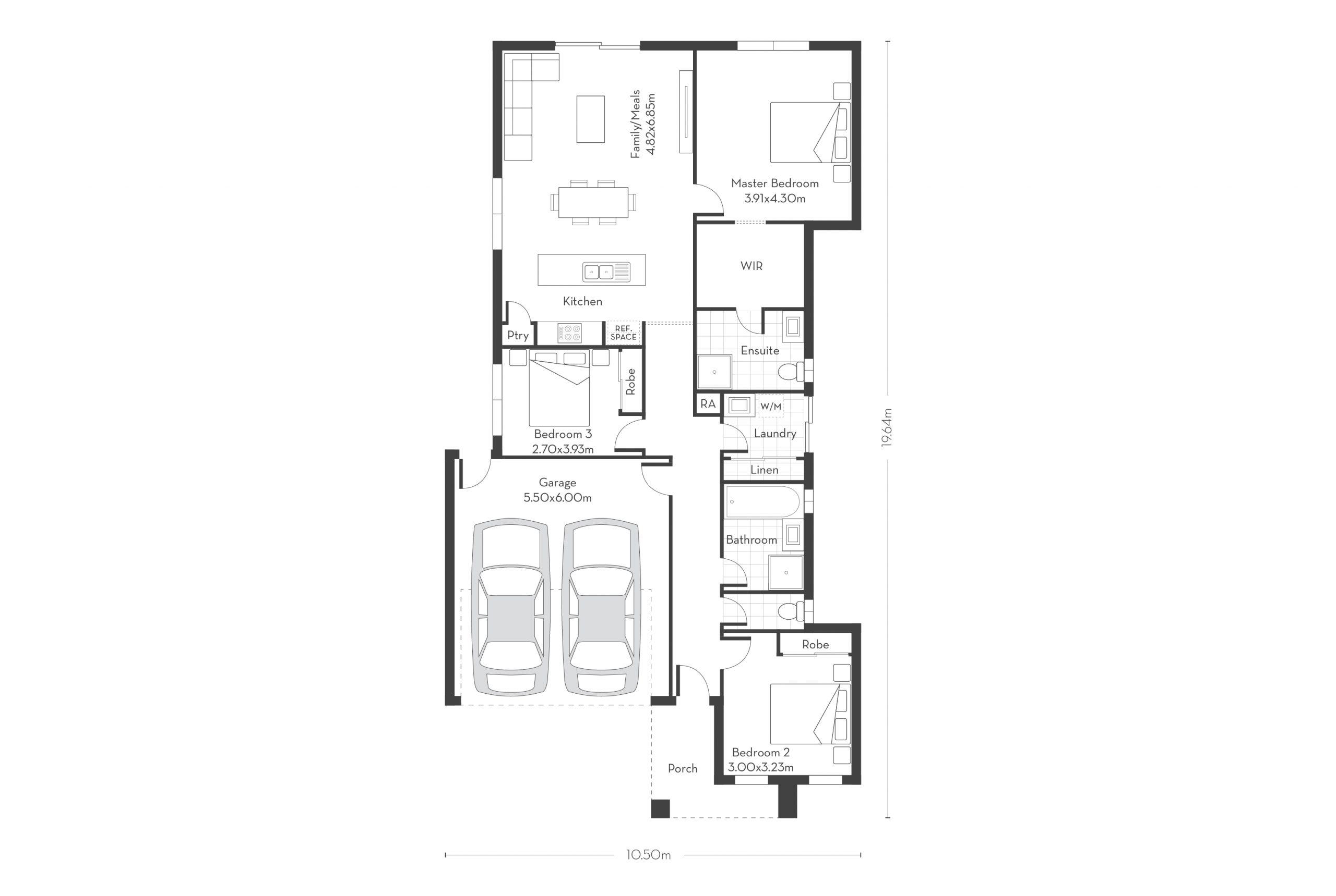 Hampton 18 Floor Plans