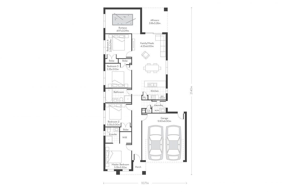 Rosemont 20 - Alfresco floor plans