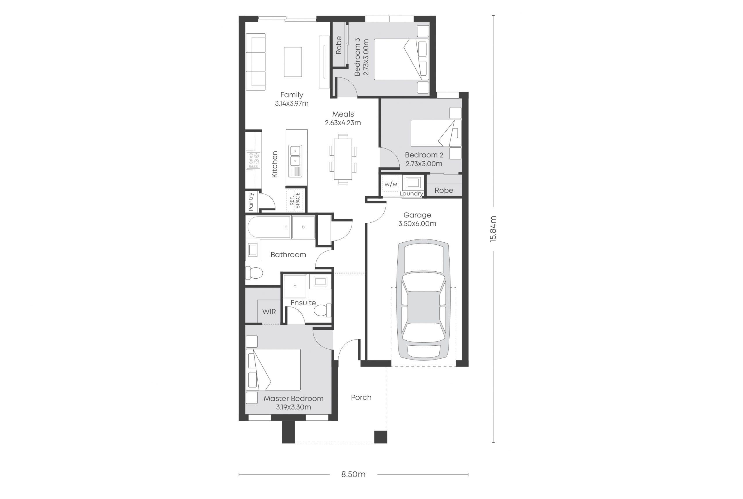 Rio 13 Floor Plans